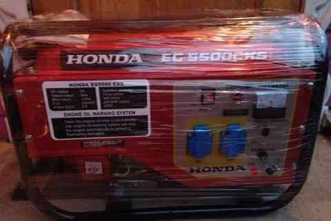Генератор бензиновый 5.5 Квт Хонда EG 55000CXS
