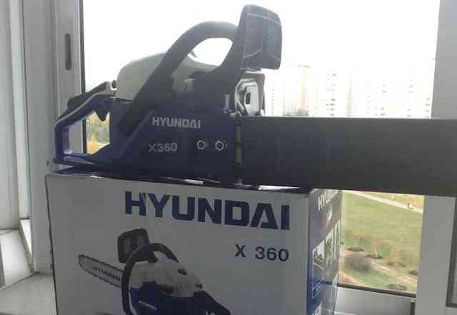 Бензопила Хендай x360