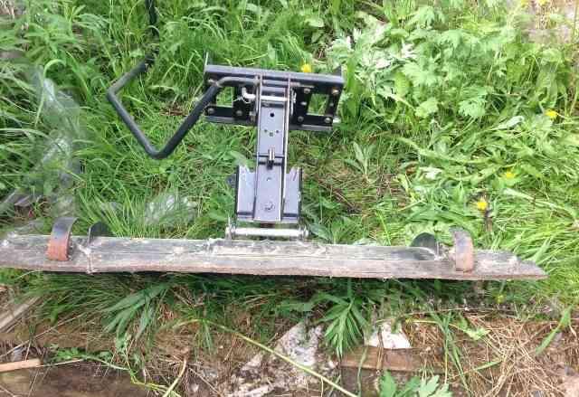 Отвал на садовый трактор мtd LF150H