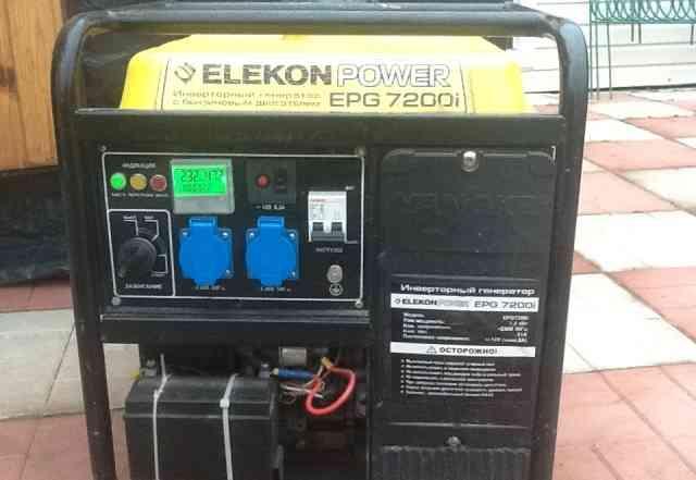 Бензогенератор инверторный elekon пауэр EPG 7200I
