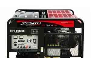 Бензиновый генератор (3Ф) zenith ZH12000DXE