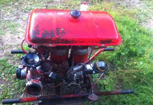 Пожарная мотопомпа мп-600