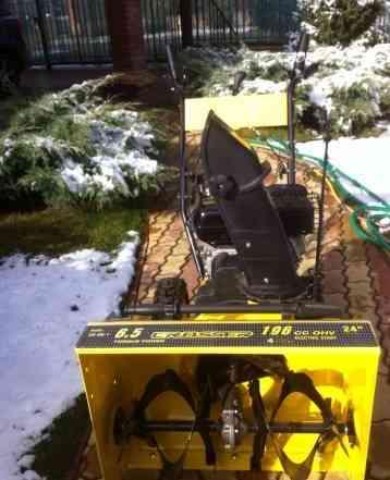 Бензиновый снегоуборщик Кроссер CR-SN-1