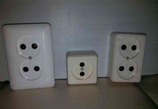 Розетки электрические