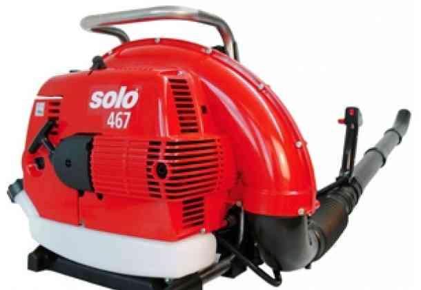 Бензиновый ранцевый воздуходув Solo 467