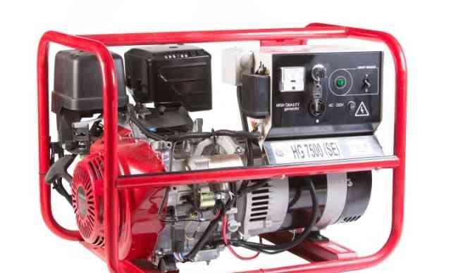 Газовый генератор HG7500 6кВа/220В