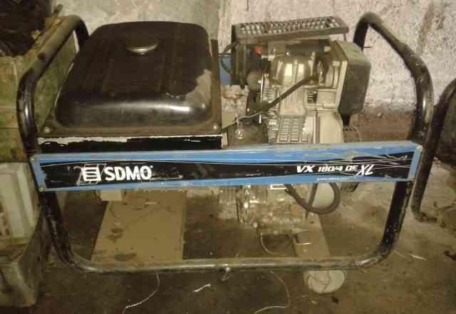 Генератор sdmo VX 180- 4 DE XL