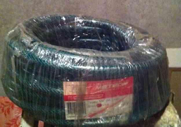 Садовый армир. шланг новый в упаковке. 25 м