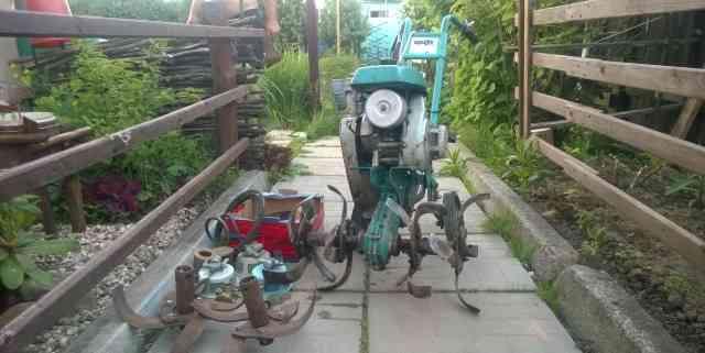 Б/У мотокультиватор крот мк-1А-02 с комплектом з/ч