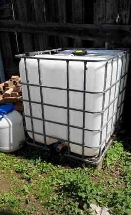 Еврокуб для воды пластиковый