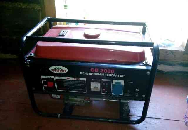 Бензиновый генератор wolsh GB 3000