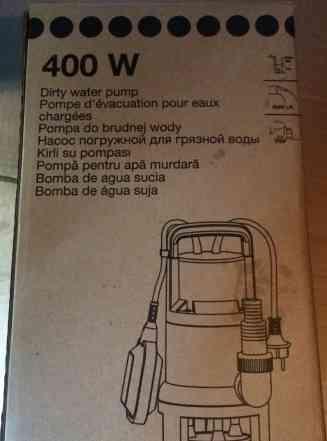 Продам погружной насос для грязной воды