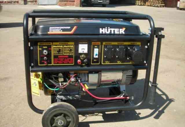 Бензиновый генератор Huter DY8000LX новый