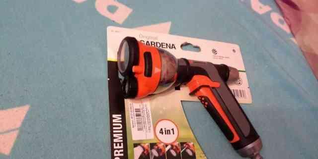 Пистолет для полива Gardena и коннекторы Новые