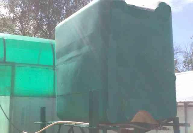 Еврокуб, бак для садовой воды 1 куб. м