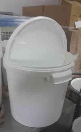 Ведра пластиковые пищевые 25кг с крышкой