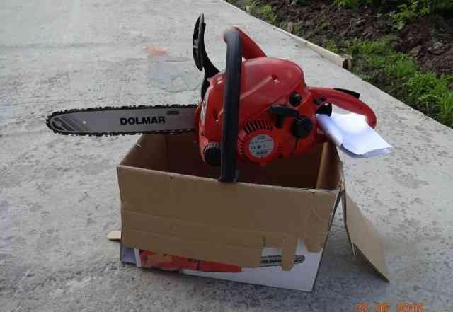Продается новая бензопила dolmar PS-34