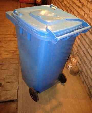 Мусорный бак контейнер пластиковый Pestan 120 л