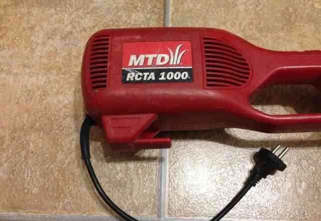 Электрический триммер MTD rcta 1000 в отл. состоян