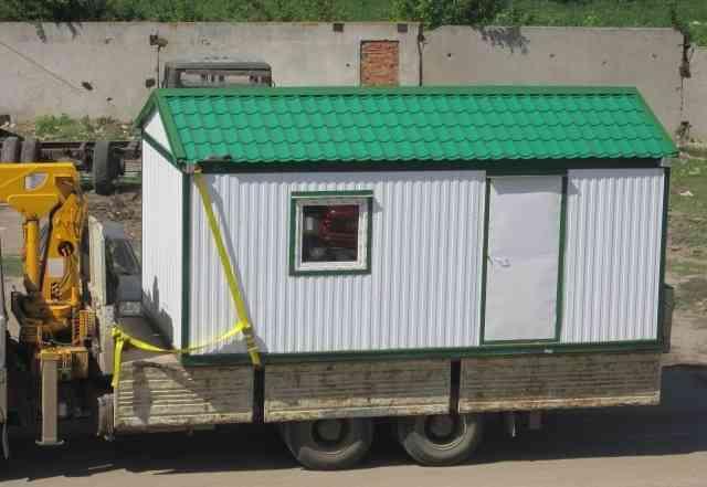 Дачный домик 6х2.4 блок-контейнер