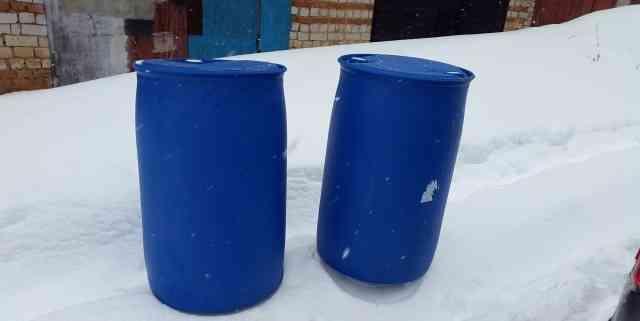 Бочка пластиковая 208 литров