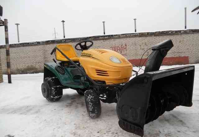 Садовый трактор Снегоуборщик Газонокосилка MTD