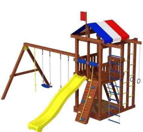 Детская деревянная площадка б/у