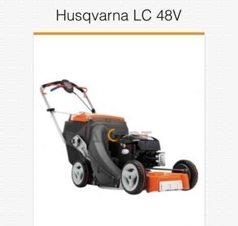 Самоходная газонокосилка husgvarna LC48V