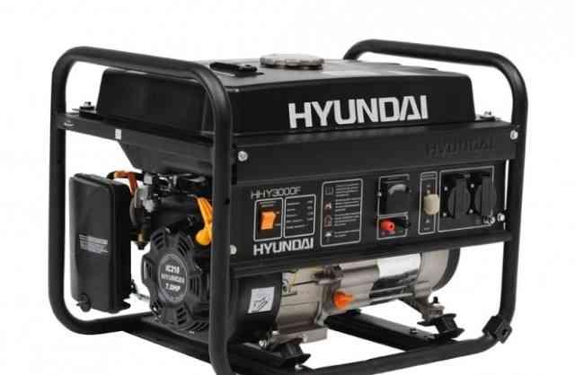 Бензиновый генератор хэндай HHY 3000F (б/у 3 мес)