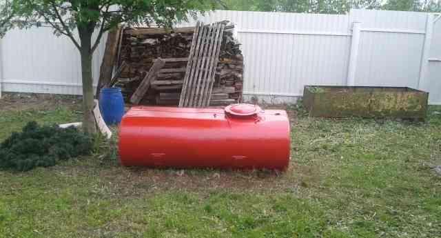 Цистерна для воды на дачу