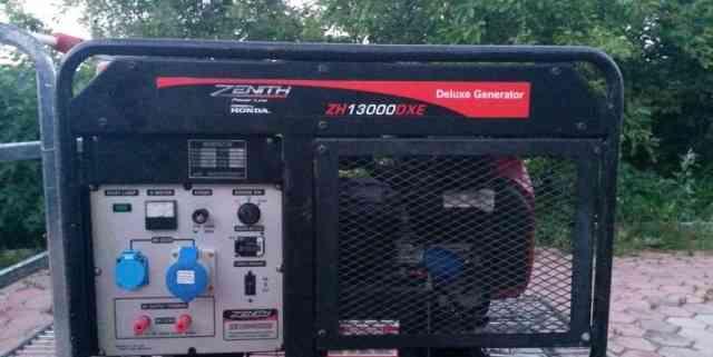 Электрогенератор zenith 13000 хонда