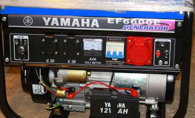 Бензиновый новый генератор Ямаха EF6600E
