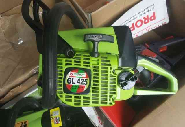 Бензопила новая Greenline GL 425