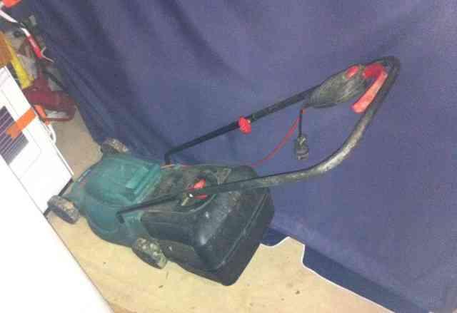Газонокосилка электрическая bosh