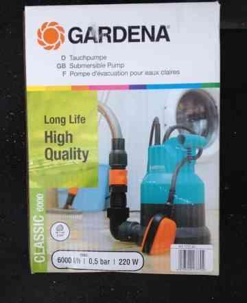 Насос погружной дренажный gardena 6000 Классик
