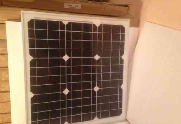 Солнечные батареи, панели. 40вт, 12в