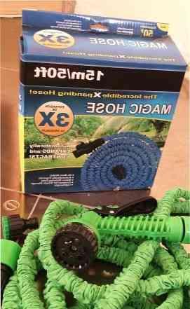 Растягивающиеся шланги X hose для сада. LD-69