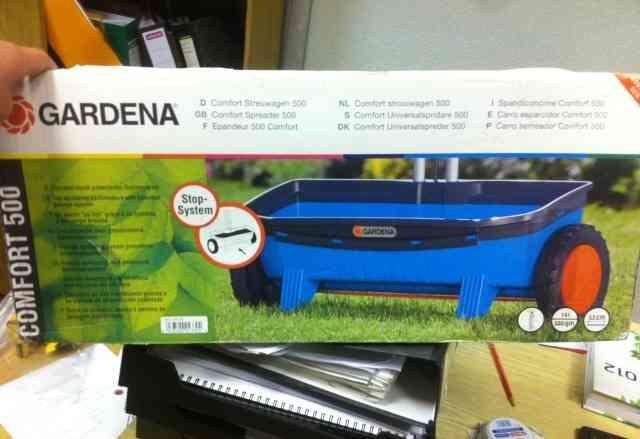Разбрасыватель сеялка Gardena comfort 500