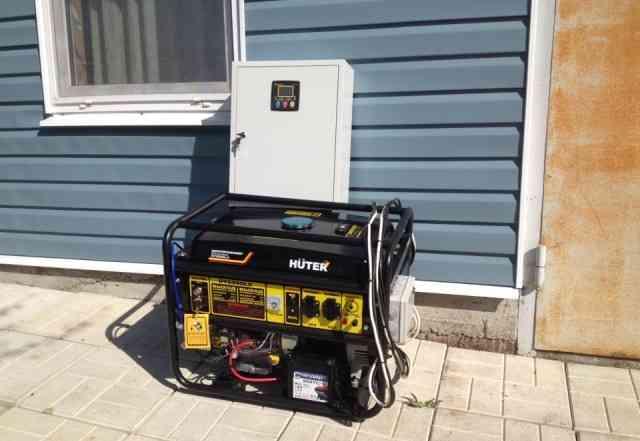 Бензиновый генератор 6.5 кВт с автоматикой