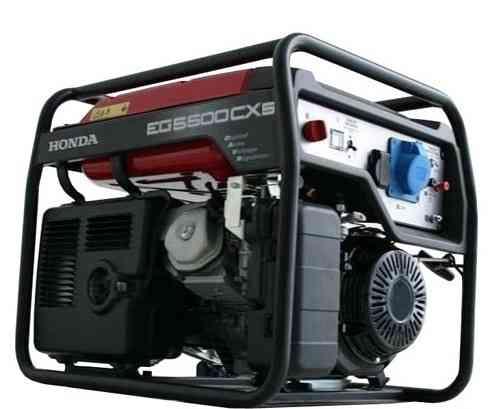 Бензиновый генератор Хонда EG 5500CXS
