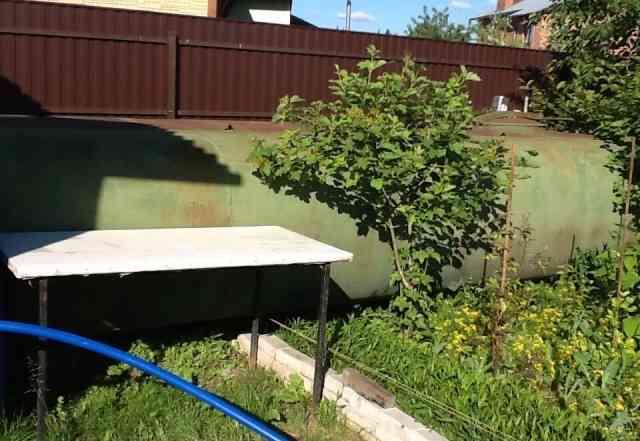 Цистерна для воды от камаза 8 куб. м