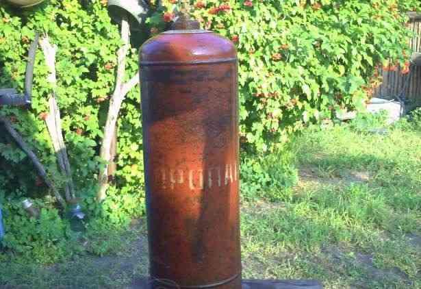 Газовый баллон 50 литров пропан