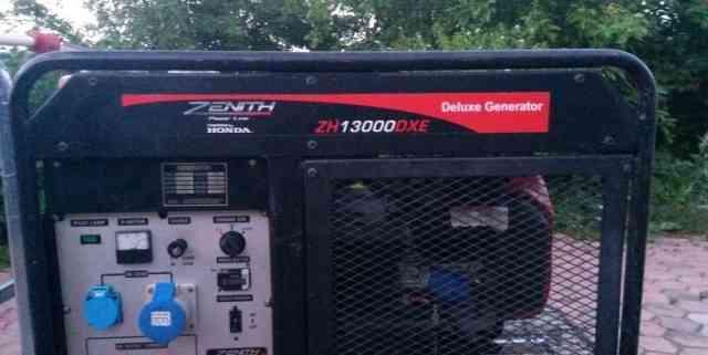Электрогенератор zenith13000 хонда 11 квт