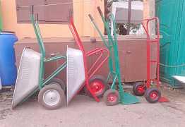 Тачки складские, строительные, колёса