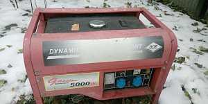 Бензогенератор DDE DPG7551E бензиновый генератор