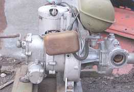 Мотопомпа 2сд-М2,левак
