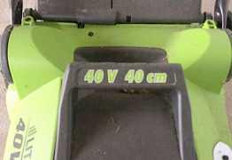 Газонокосилка на аккумуляторе.Предложите свою цену