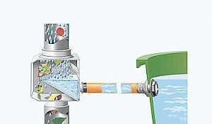 Емкость для воды Раунд 210 лит. с крышкой и краном