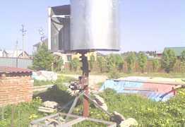 Ветрогенератор 350 ватт с вертикальной осью