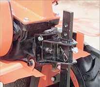 Мотоблок GT85 B2R С колёсами